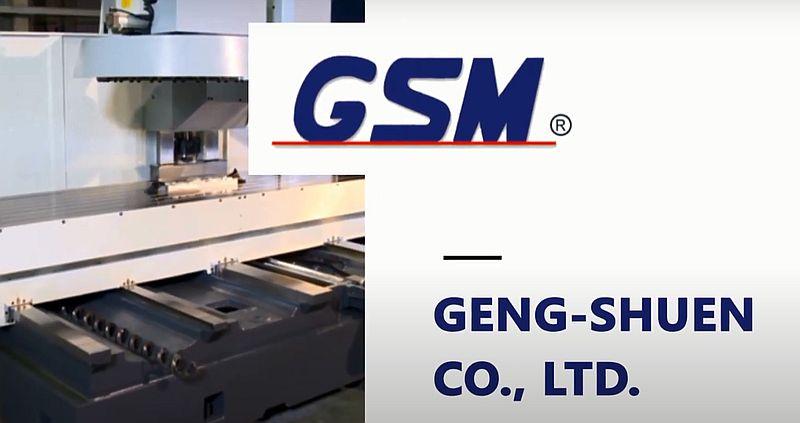 GENG-SHUEN (бренд GSM-CNC) - фрезерні обробні центри з ЧПК
